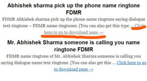 Apne Naam ka Ringtone