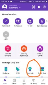 Online Electricity Bill Payment