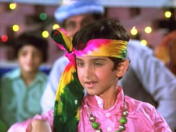 Hrithik Roshan First movie Aasha