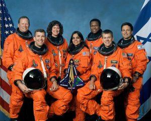 kalpana space crew team