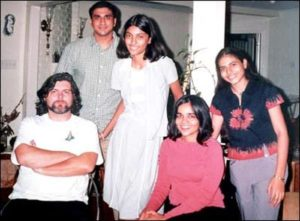 kalpana chawla family