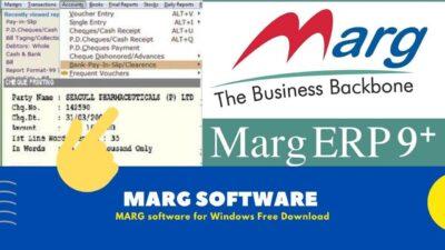 [ GST Billing ] MARG Software For Windows [ Free Download 2020 ]