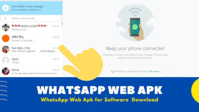 WhatsApp Web Apk Software for Windows [ Free to Use ]