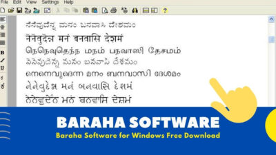 Baraha Software Download For Windows [ Best Typing Software ]