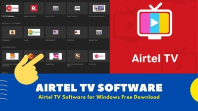 Airtel TV Software For Windows [ Free Download 2020 ]