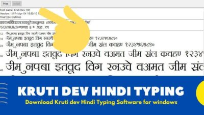 Kruti Dev Hindi Typing Software Free Download 2020 { Windows Version }