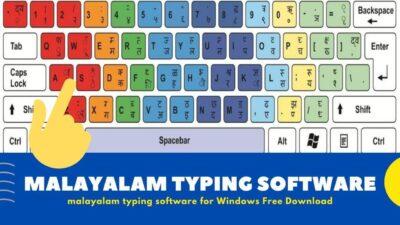 English to Malayalam Typing Software