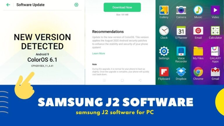 Samsung J2 Mobile Software Free Download with Install Process