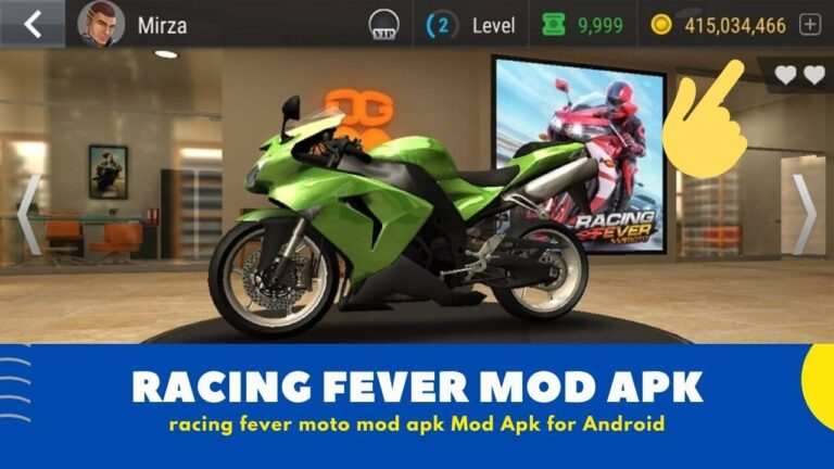 [ Free Download ] Racing Fever Moto Mod Apk v1.81.0 ( Unlimited Money )