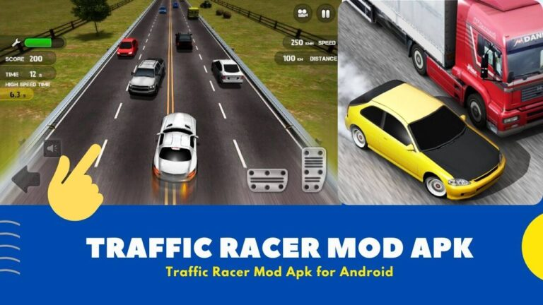 Download Traffic Racer Mod Apk Latest 3.3 for Android { Unlimited Money }
