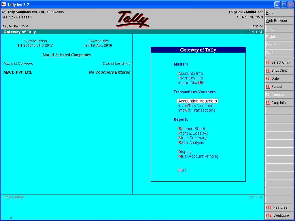 tally 7.2 apk