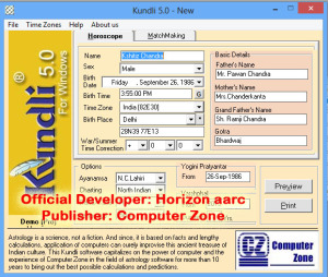 kundli pro 5.0 software
