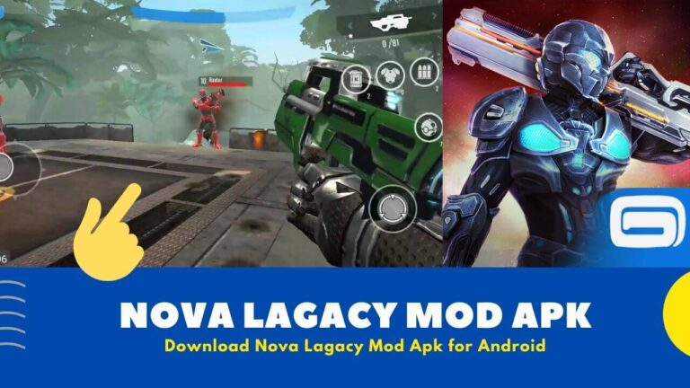 Nova Legacy Mod Apk Download Latest v5.8.3c {Free Unlimited Money}