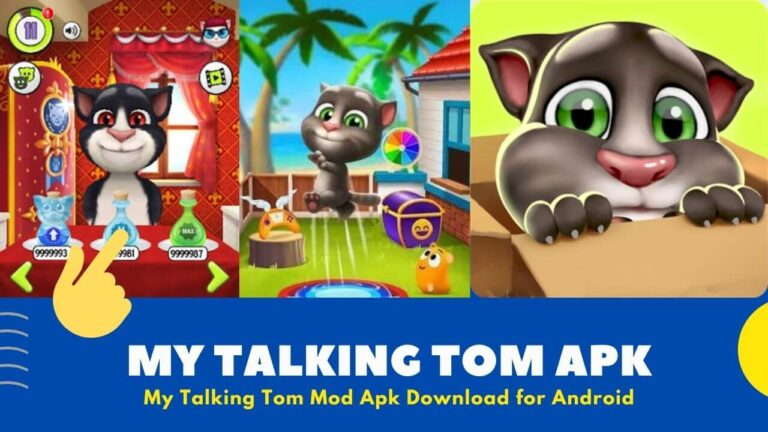 Updated My Talking Tom Mod Apk v6.2.0.910 Download { Unlimited Coin }