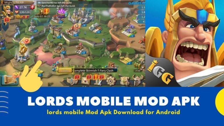 Hack Download Lords Mobile Mod Apk v2.37 {Unlimited Gems + Money}