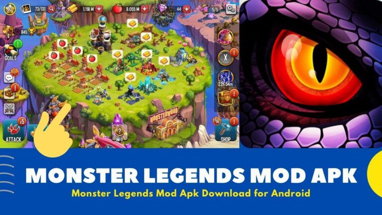[Hacked] Download Monster Legends Mod Apk v10.5.10 {Unlimited Gems}
