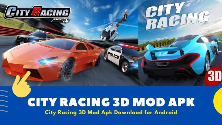 Download City Racing 3D Mod Apk {Unlimited Money and Diamond}