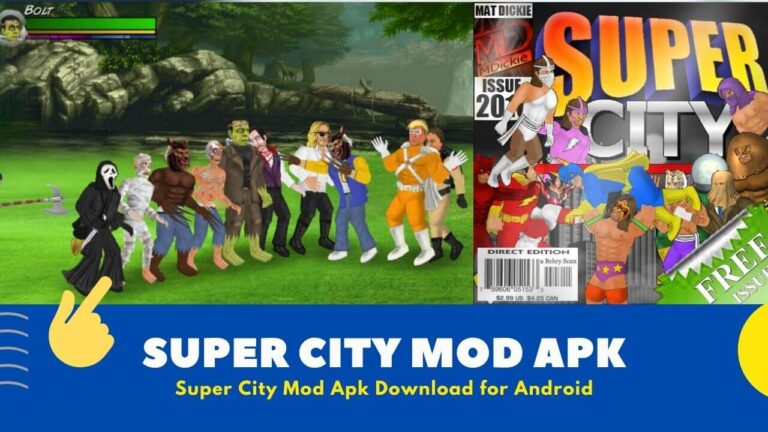Download Super City Mod Apk v1.212 Hack {All Mode Unlocked}