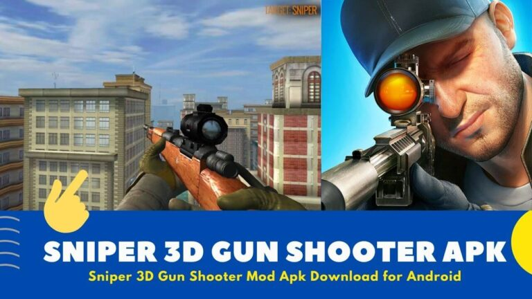Download Sniper 3D Gun Shooter Mod Apk v3.25.3 {Unlimited Coins}