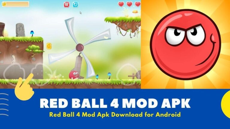 Download Red Ball 4 Mod Apk v1.4.21 {Unlimited Health & Lives}