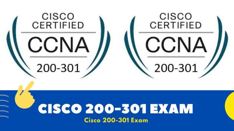 Cisco 200-301 Exam