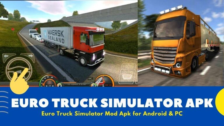 Download Euro Truck Simulator Mod Apk v3.1 {Unlimited Money}