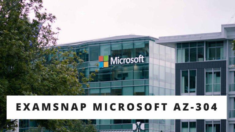 Examsnap Microsoft AZ-304